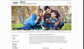 MGM Benefits Group - Benefits Portal
