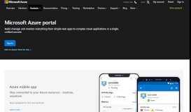 Microsoft Azure Portal | Microsoft Azure