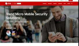 Mobile Security Solutions - Trend Micro
