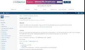 mod_xml_rpc - FreeSWITCH - Confluence