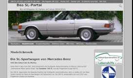 Modellchronik – Das SL-Portal