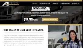Monthly Bookkeeping for Truckers + Tax Prep | RumbleStrip ... - Atbs