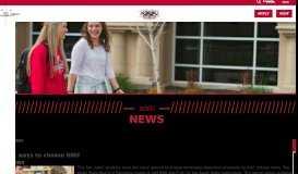 More ways to choose NNU - NNU News