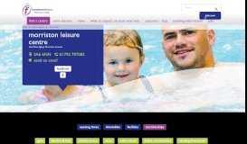 Morriston Leisure Centre - Freedom Leisure