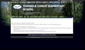 Mrs. Przewozny's Bio - Thomas B. Conley Elementary School