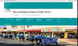 Murrumbidgee Regional High School: Home