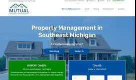 Mutual Property Management in Southeast Michigan