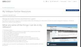 My VMware for Partners: Overview