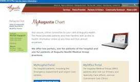 MyAugusta Chart | Augusta Health