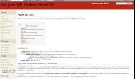 MyBook Live - Hacking WD MyBook World Ed