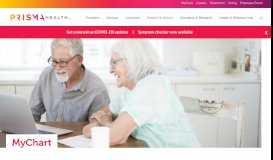 MyChart - Prisma Health - Upstate - Greenville Health System