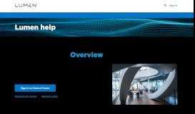 MyLevel3 portal | Business Support | CenturyLink