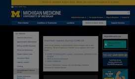 MyUofMHealth.org (Patient Portal)   Michigan Medicine