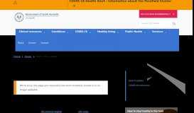 National Antimicrobial Utilisation Surveillance (NAUSP) Portal home ...