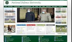 National Defence University, Islamabad