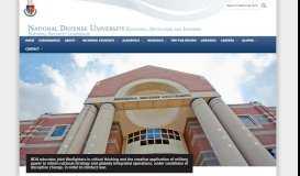 National Defense University (NDU)