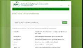 National Identity Management Commission » Delta State Enrolment ...