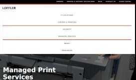 National Managed Print Services | Print Management MN | Loffler