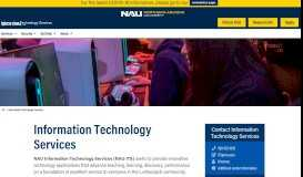 NAU - ITS - Mobile Apps - Northern Arizona University
