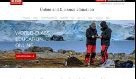 NC State Online and Distance Education