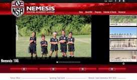 Nemesis Soccer Academy | Home