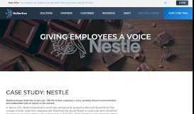 Nestlé   Giving Employees a Voice   Kollective Technology