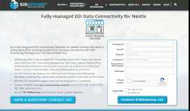 Nestle Fully-managed EDI   B2BGateway