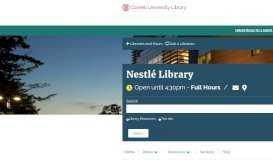 Nestle Library - Cornell University