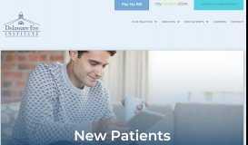 New Patients | Delaware Eye Institute