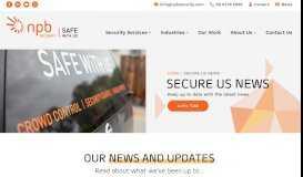 News - NPB Security