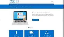 NHSmail 2 Portal - Home