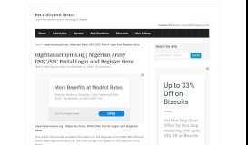 nigerianarmyms.ng   Nigerian Army DSSC/SSC Portal Login and ...