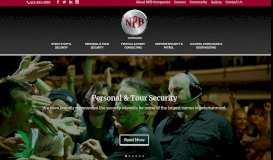 NPB Companies: Tour & Personal Security, Festival & Event Consulting