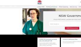 NSW Government - NSW Government Departments & Services » NSW ...