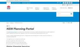 NSW Planning Portal - Department of Planning and Environment