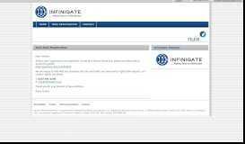 Nuix Deal registration form - Partner Marketing Portal from Infinigate UK