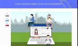 O que é Plataforma Digital e quais suas funcionalidades?