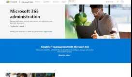 Office 365 Administration - Microsoft Office