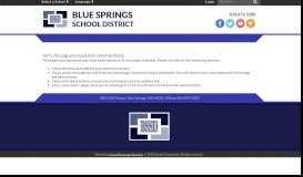 Office 365 / Office 365 - Blue Springs School District