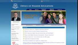 Office of Higher Education