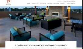 Oklahoma City Apartments| The Edge at Midtown | Features