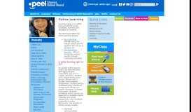 Online Learning - Peel District School Board
