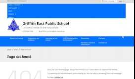 Online Payments - Griffith East Public School