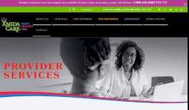 Online Portal for Providers | Amida Care | NYC