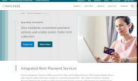 Online Rent Payment Service and Software Solution   RealPage