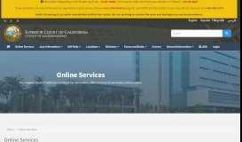 Online Services | Superior Court of California - San Bernardino ...