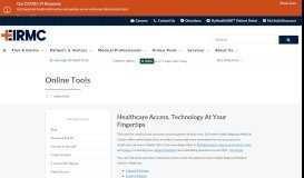 Online Tools   Eastern Idaho Regional Medical Center   Idaho ... - EIRMC