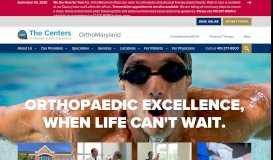 OrthoMaryland | Baltimore Area | Orthopaedic Surgeons