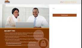 OTP - Equity Bank | Self Service Portal