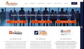 Our Ability, Inc. – Employment and Empowerment of People with ...